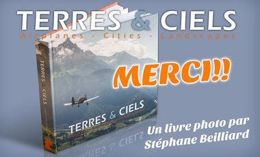 "Visuel du projet Livre ""Terres & Ciels"""