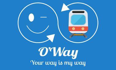 Visueel van project O'Way ! Partagez durant vos trajets du quotidien
