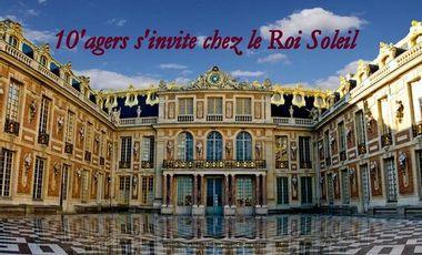 Project visual 10'agers s'invite chez le Roi Soleil