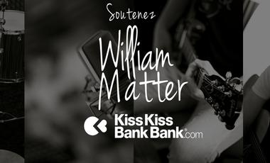 Project visual WILLIAM MATTER - Premier CD 5 titres
