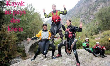 Project visual kayak au pays des kiwis
