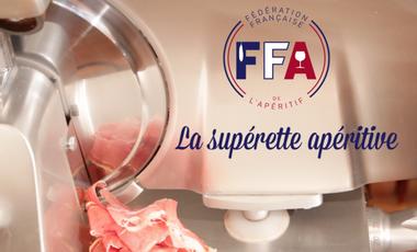 Project visual La Fédération Française de l'Apéritif ouvre sa supérette apéritive !
