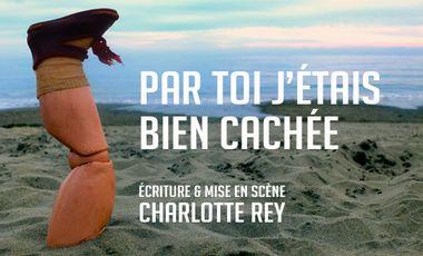 """Visueel van project Création maquette  """"Par toi j'étais bien cachée"""""""