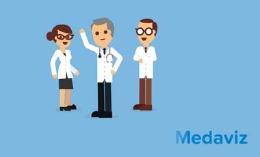 Visueel van project Medaviz, l'avis médical en un clic