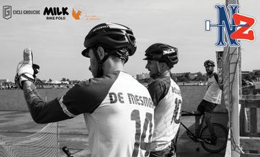 Visuel du projet Aidez-nous à participer aux Championnats du Monde de Bike Polo 2016 à Timaru !