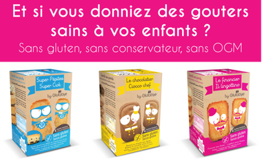 Visueel van project GOUTERS SANS GLUTEN – Attention, terriblement délicieux !