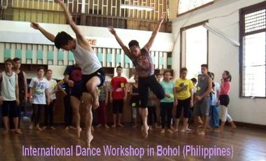 Project visual International Dance Worshop in Bohol (Philippines)