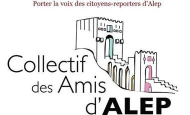 Project visual Porter la voix des citoyens-reporters d'Alep