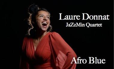 Visuel du projet Laure Donnat JaZzMin Quartet : le disque !