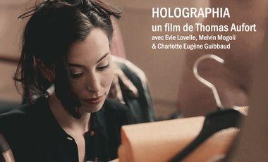 Project visual Holographia, film de Thomas Aufort