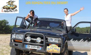 Visuel du projet SOUTENEZ LES EGHZALTEES AU RALLYE AÏCHA DES GAZELLES