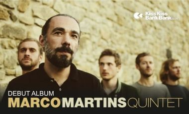 Visueel van project Marco Martins Quintet_Debut Album