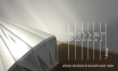 Visuel du projet CUTTER - atelier/boutique de découpe laser à Paris.