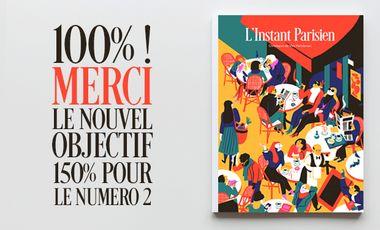 Visuel du projet L'Instant Parisien, la revue papier