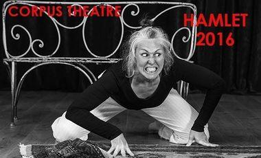 """Visueel van project Corpus Théâtre met le cap sur """"Hamlet"""" ! Rejoignez l'équipage aux côtés d'Agnès Jobert et de la troupe !"""