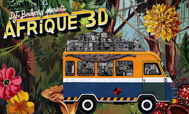 Visuel du projet AFRIQUE 3D - 1er album vinyle et numérique