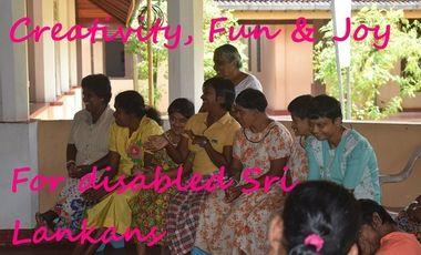 Visueel van project Creativity, Fun and Joy for Disabled Sri Lankans