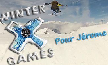 Project visual Winter Xgames 2016 pour Jérôme
