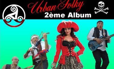 Visuel du projet Urban Folky - 2ème album