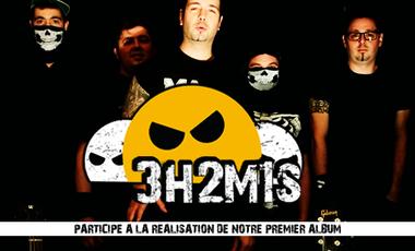 Visuel du projet 1er album de 3h2m1s - Rock en Français