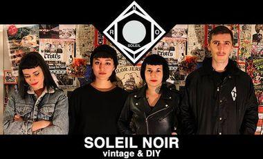 Project visual SOLEIL NOIR : FRIP' BROC' EXPO !