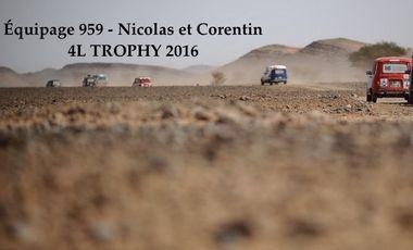 Visuel du projet 4L TROPHY 2016 - Équipage 959
