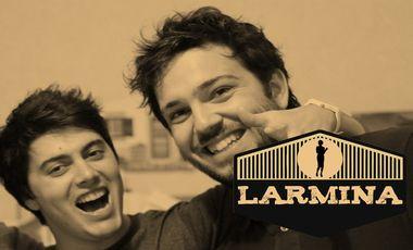 Project visual LARMINA 4L Trophy - Alex&Etienne