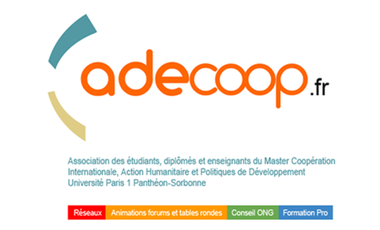 Visueel van project ADECOOP 2011 - 2015