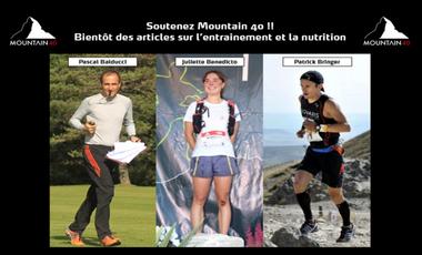 Project visual Soutenez Mountain 40 : des articles de qualité pour des trailers passionnés !!
