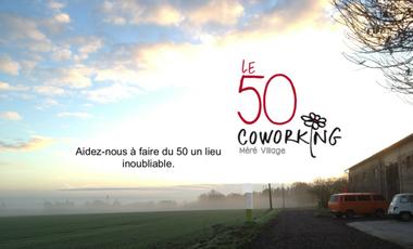 Project visual 1er espace de coworking rural dans les Yvelines