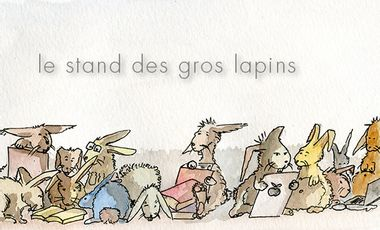 Project visual Le stand des gros lapins