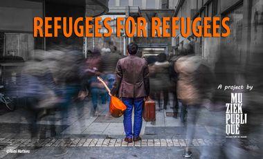 Visuel du projet Refugees for Refugees