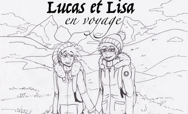 "Project visual Web-TV : ""Lucas & Lisa en voyage"""