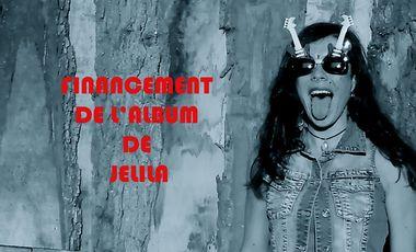 Visueel van project Financement de l'album de JELILA