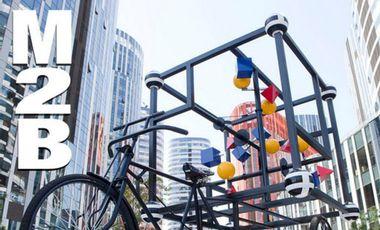 Project visual 'M2B Shanghai-Hong Kong' - a 1800km-Art-Performance