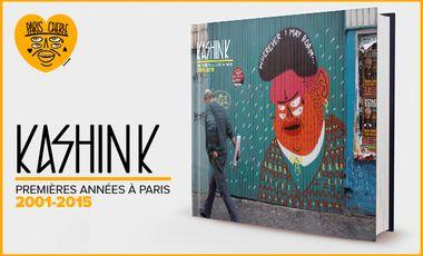 Visuel du projet Le Livre de KASHINK : Premières Années à Paris 2001-2015
