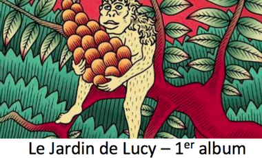 Project visual SUMAC DUB - Le Jardin de Lucy - 1er Album