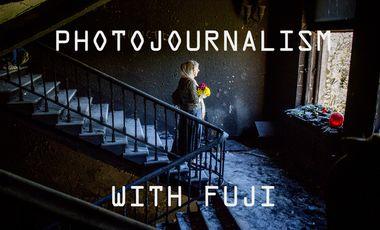 Visueel van project Rééquipez un PHOTOJOURNALISTE ...