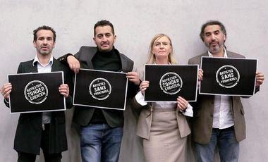 Visueel van project Artiesten Zonder Grenzen - Artistes Sans Frontières