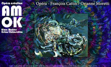 Visueel van project AMOK. Opéra. François Cattin/Orianne Moretti.