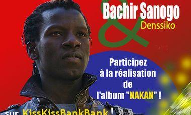 """Visueel van project Album """"Nakan"""" de Bachir Sanogo"""