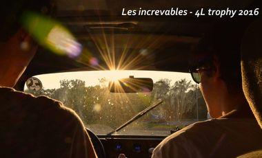 Visuel du projet Les increvables - 4L trophy 2016