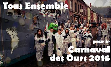 Project visual Tous ensemble pour le Carnaval des Ours 2016