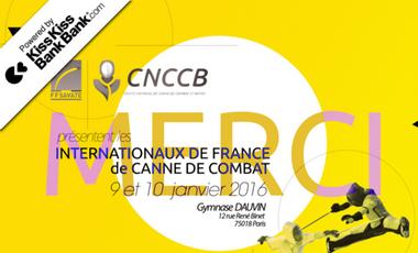 Visuel du projet Internationaux de France / Compétition de Canne de Combat