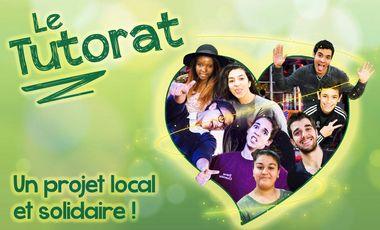 Visueel van project Le Tutorat : un projet local et solidaire