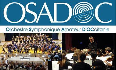 """Visuel du projet """"OSADOC"""", l'Orchestre Symphonique Amateur encadré par des professionnels"""