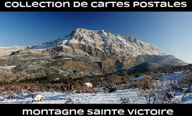 Project visual Collection de cartes postales dédiées à la montagne Sainte Victoire