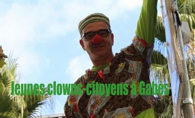 Visuel du projet Jeunes clowns-citoyens à Gabes