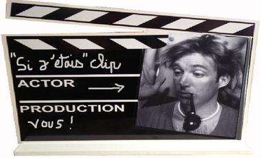 """Visuel du projet CLIP single """"si j'étais"""" de Gérald Genty"""