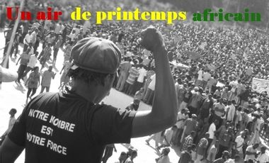 Project visual Un air de printemps africain, le doc